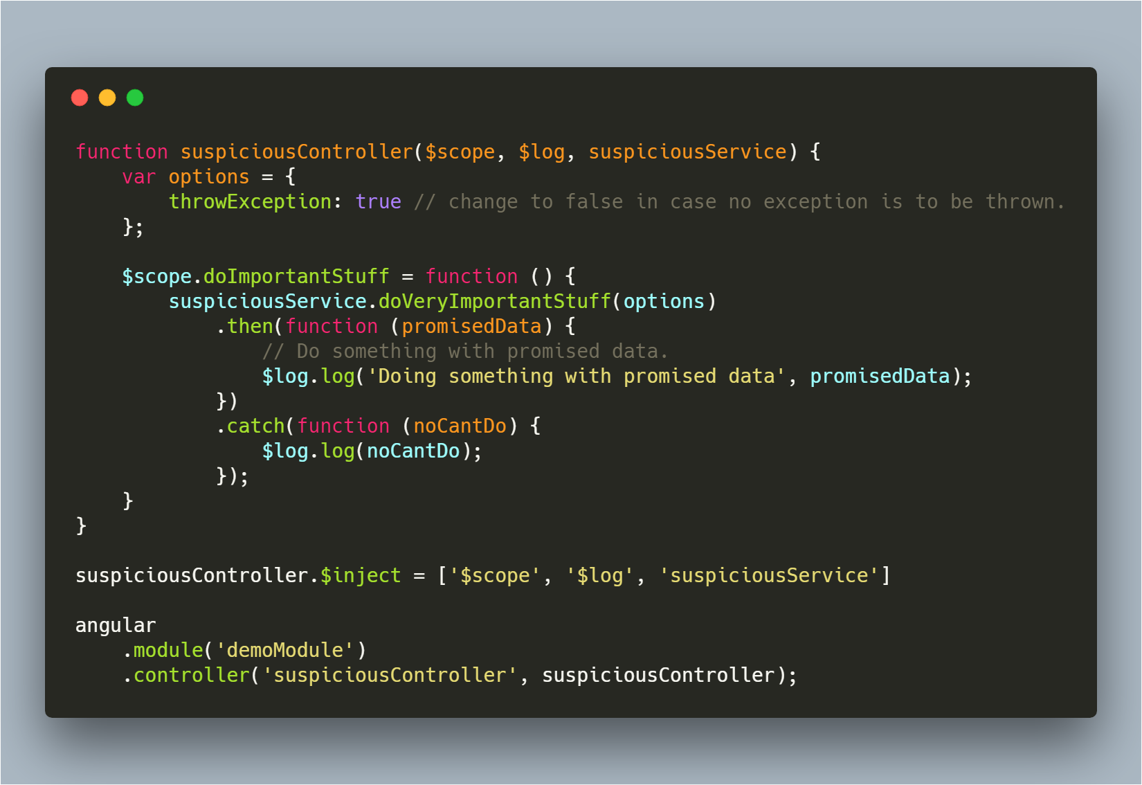 Monitor and handle exceptions like a boss in Angularjs - By