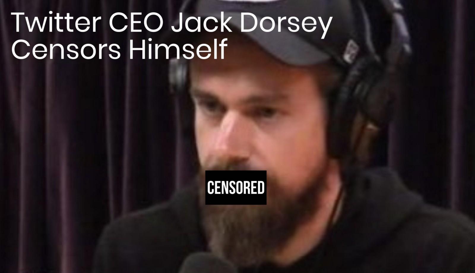 /twitter-ceo-jack-dorsey-censors-himself-on-joe-rogan-podcast-b9211ea10dfd feature image