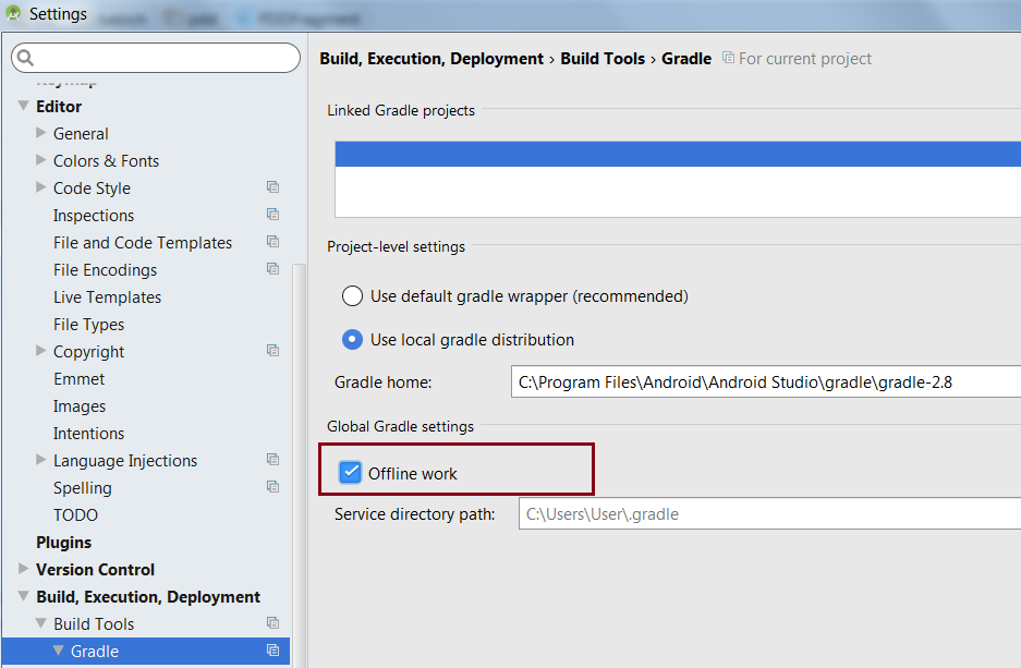 Speed Up Gradle Build In Android Studio - By