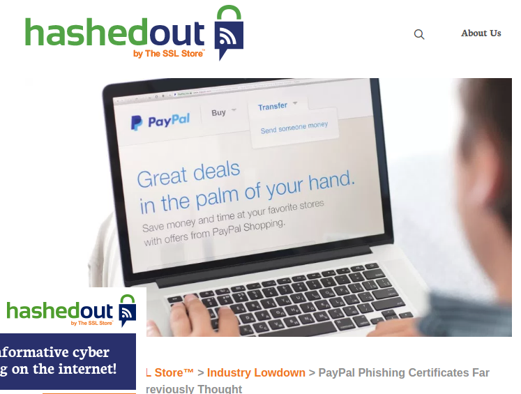 LetsEncrypt, Paypal and selling fear - By