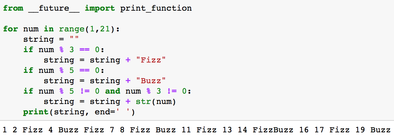 Python Interview Question FizzBuzz - By