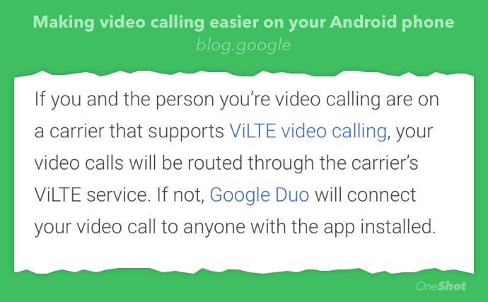 Google Duo puts the last nail in ViLTE's coffin - By Jorge Serna