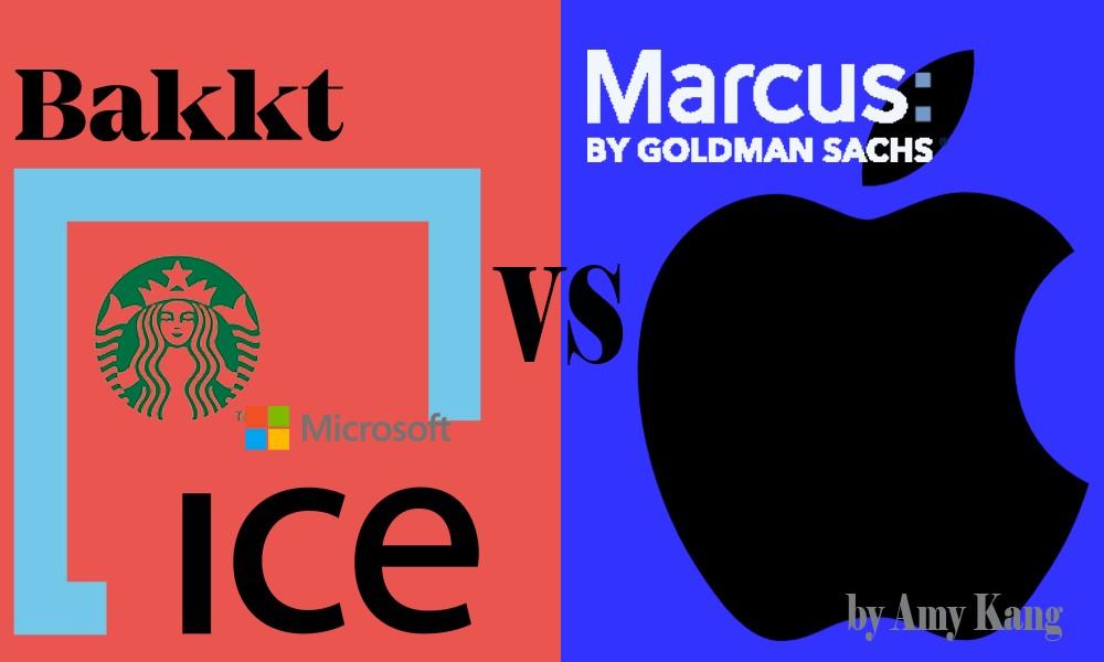 /the-blockchain-marvel-vs-dc-bakkt-vs-goldman-sachs-apple-2681962d40cc feature image