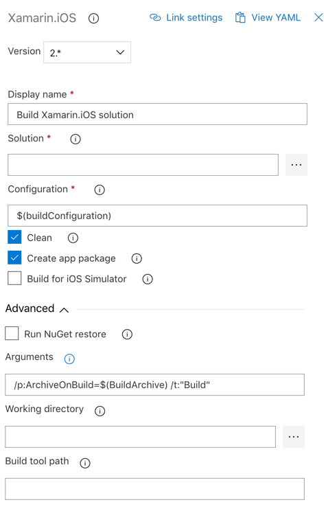 Publishing an XCode Archive in Azure Dev Ops With Xamarin iOS - By