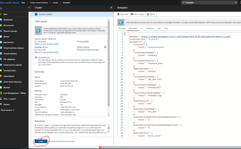 Hosting Ark Node(s) in Microsoft Azure - By