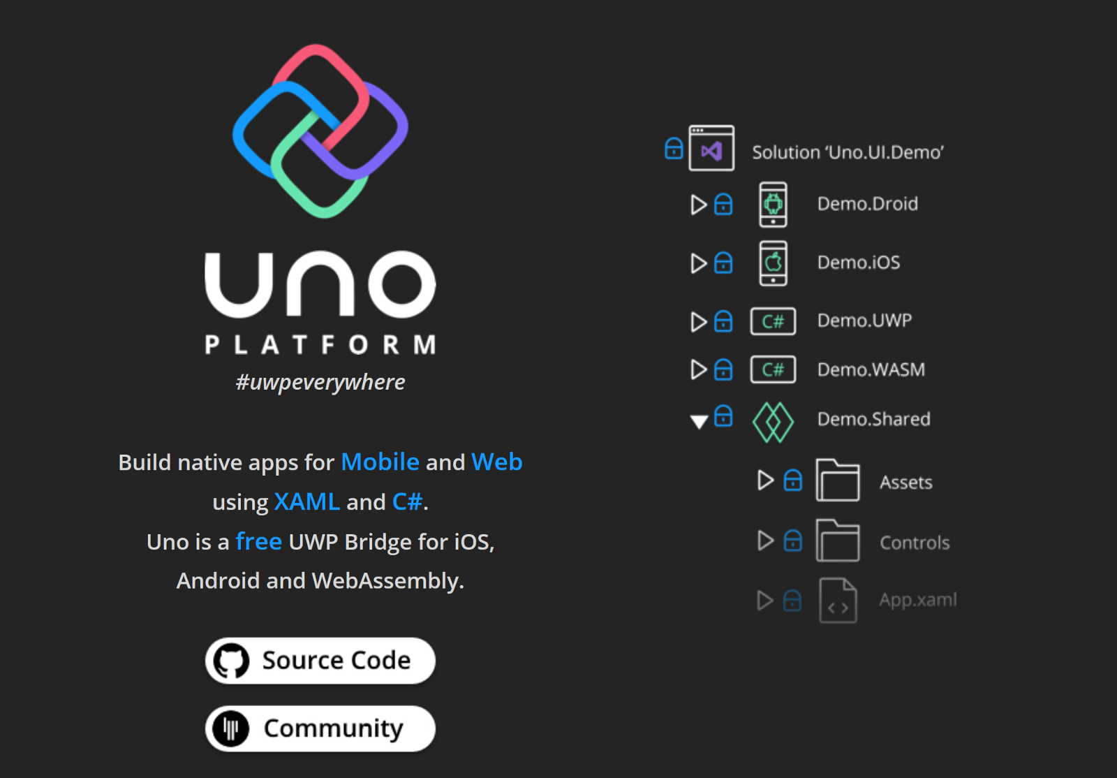 Cross Platform Mobile Apps with  NET and Uno - By