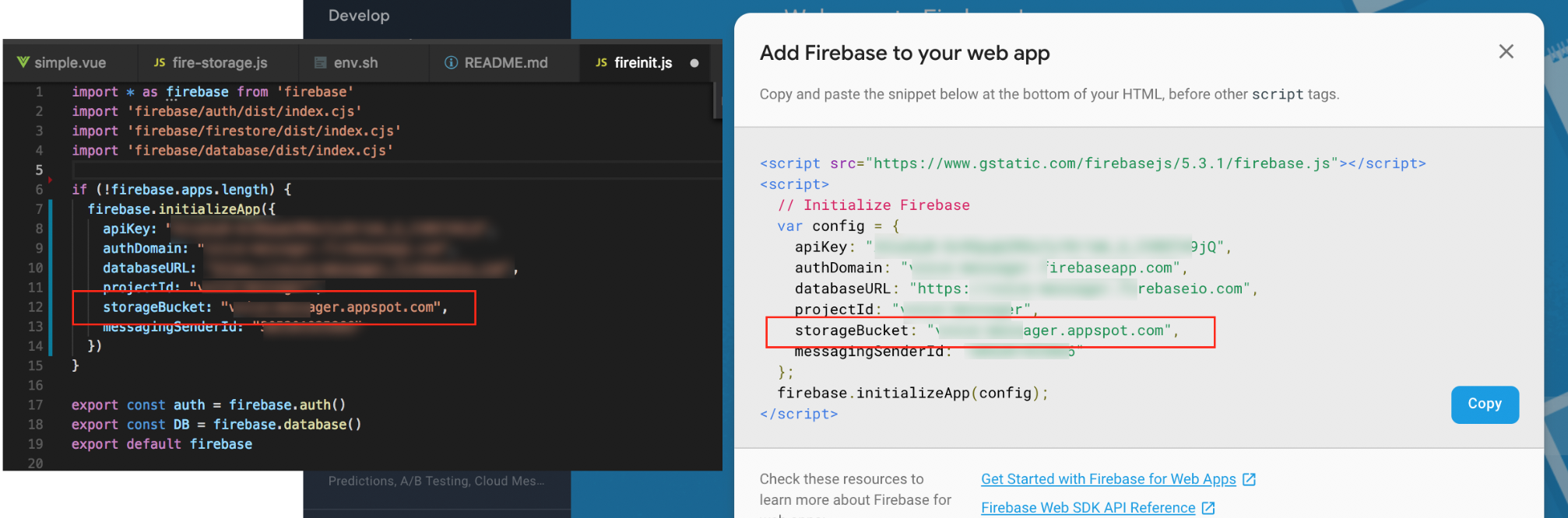 Firebase] Setup storage upload from Browser in 3 step - By
