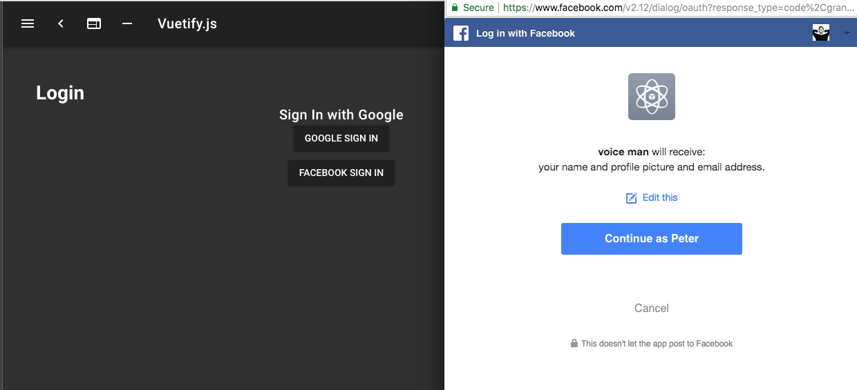 Vue] Setup Facebook Login in Nuxt + Firebase in 8 Step - By