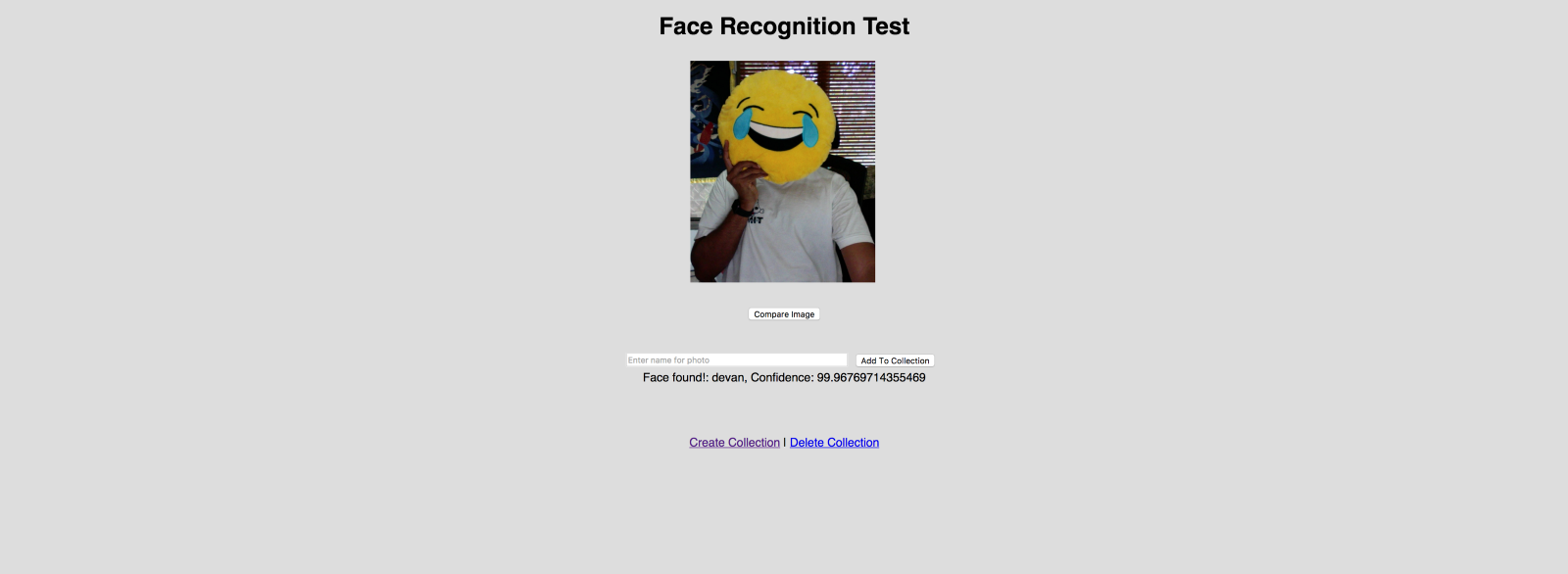 Building a face recognition web app in under an hour - By