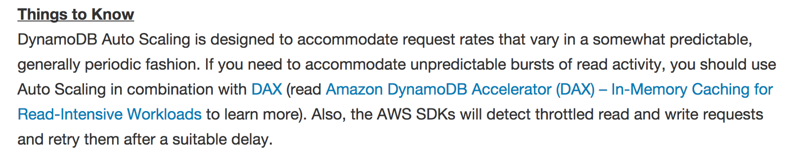 The problems with DynamoDB Auto Scaling and how it might be