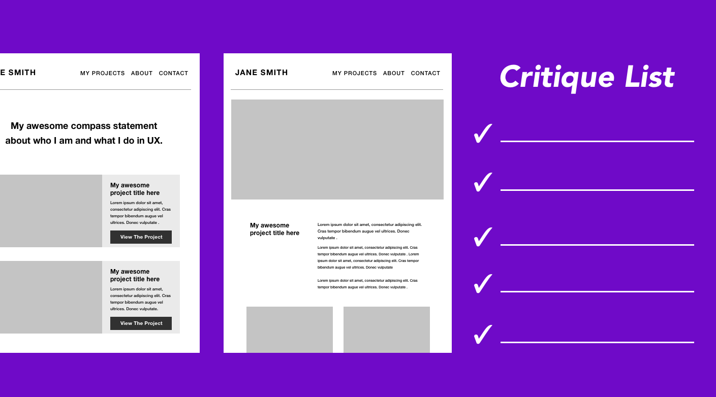 /how-to-critique-your-own-ux-portfolio-bf0c08434e1c feature image