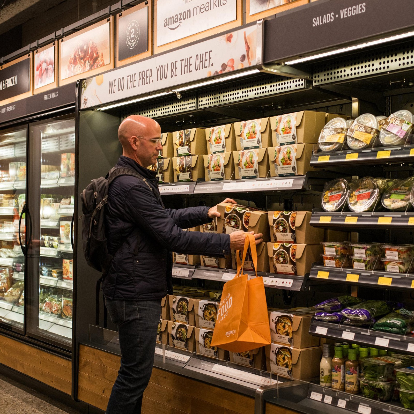 Amazon Goes Future, AmazonGo - By