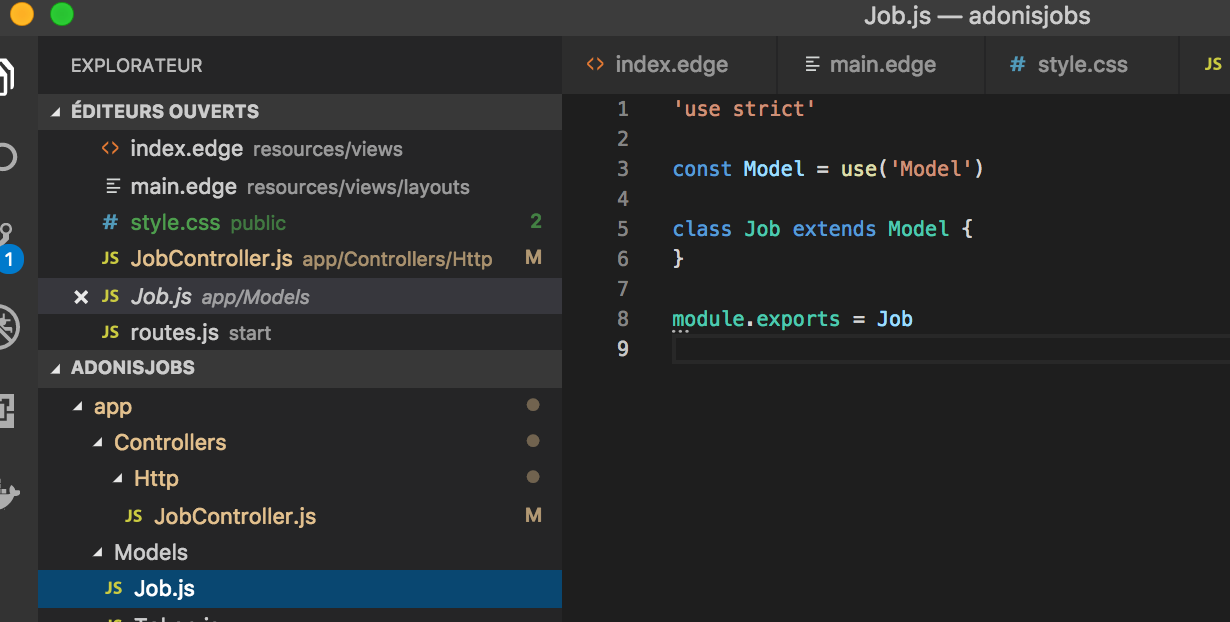 My takeaways from building a job board with AdonisJs 4 - By