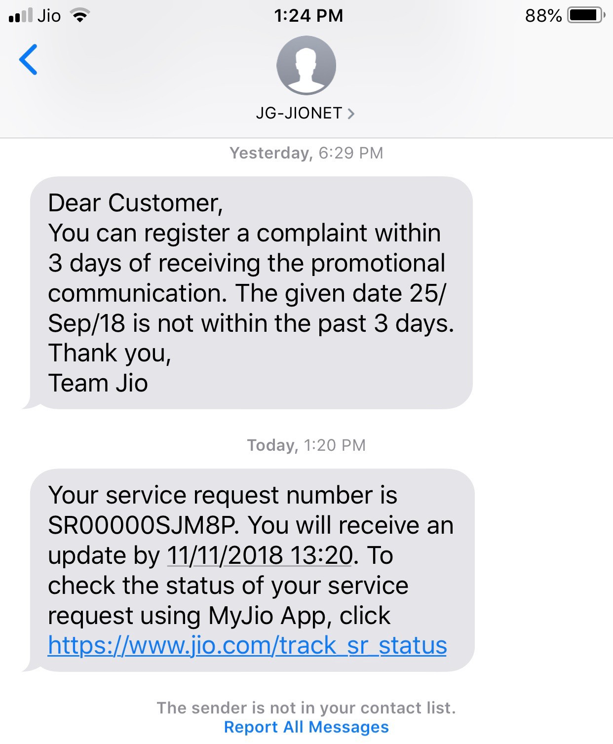 Say goodbye to iOS spammers - By SK Babu
