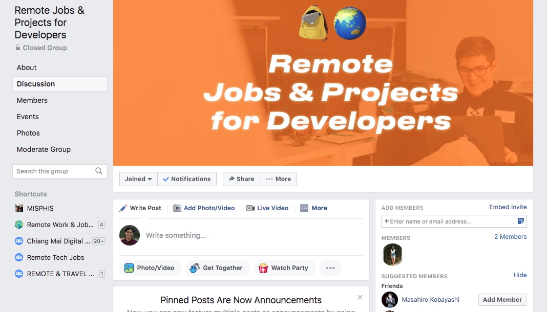 10 Facebook Groups you can join for free to find your next