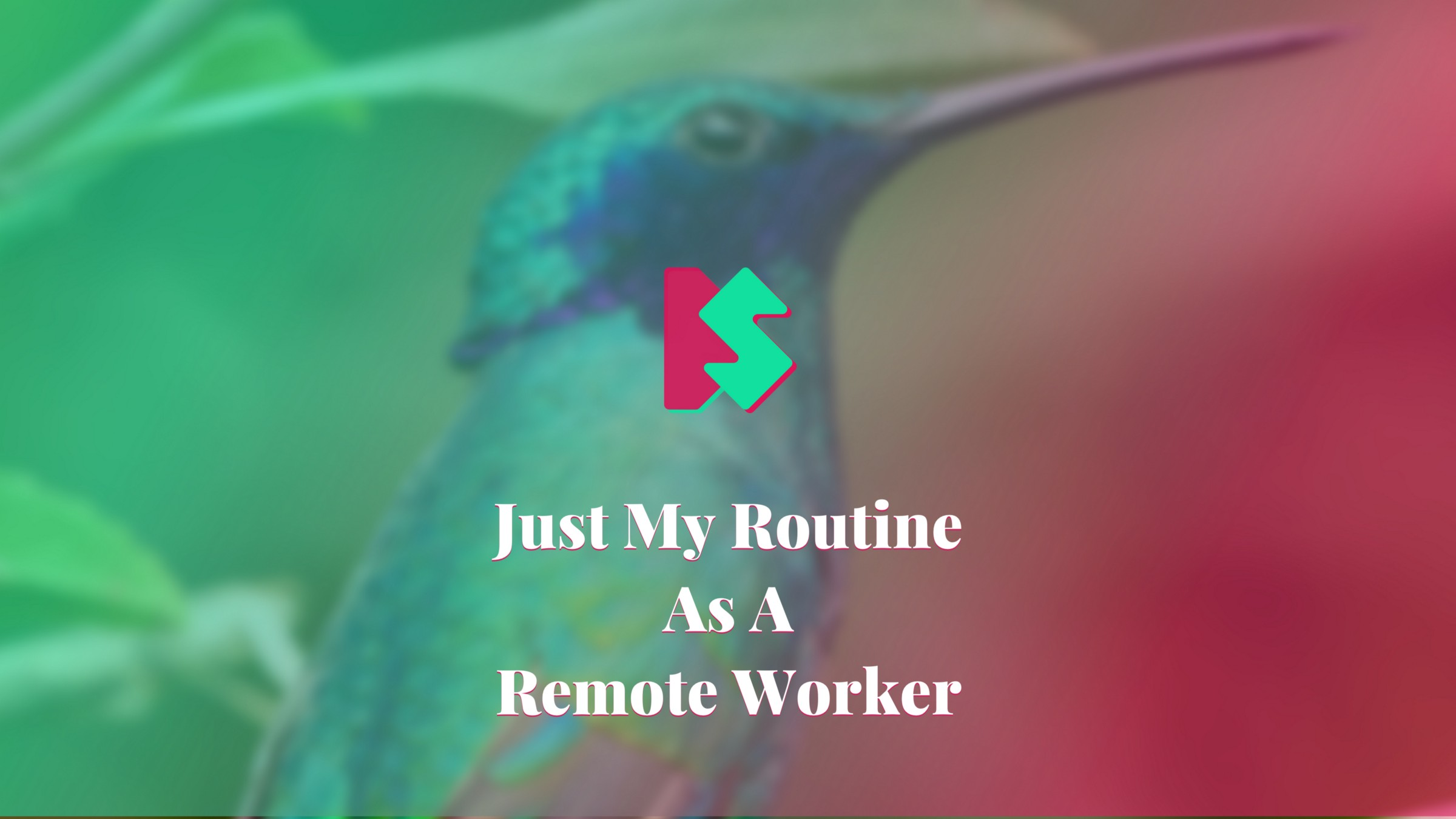 /the-typical-routine-of-this-remote-worker-3a2a25f50cc5 feature image