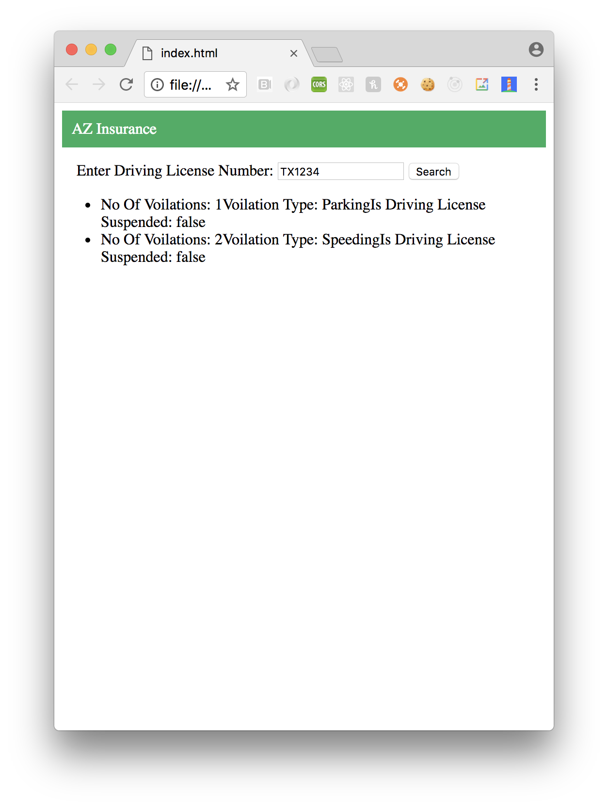 Implementing Driving Records Blockchain in iOS Using Swift - By