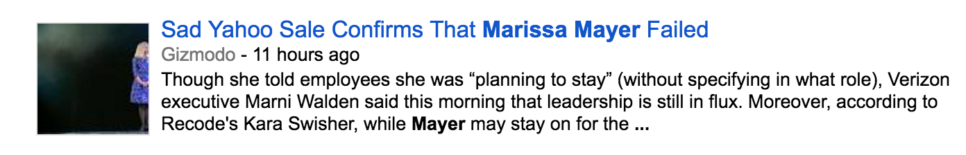 What Marissa Mayer Brought to Yahoo That Can't Be Bought or