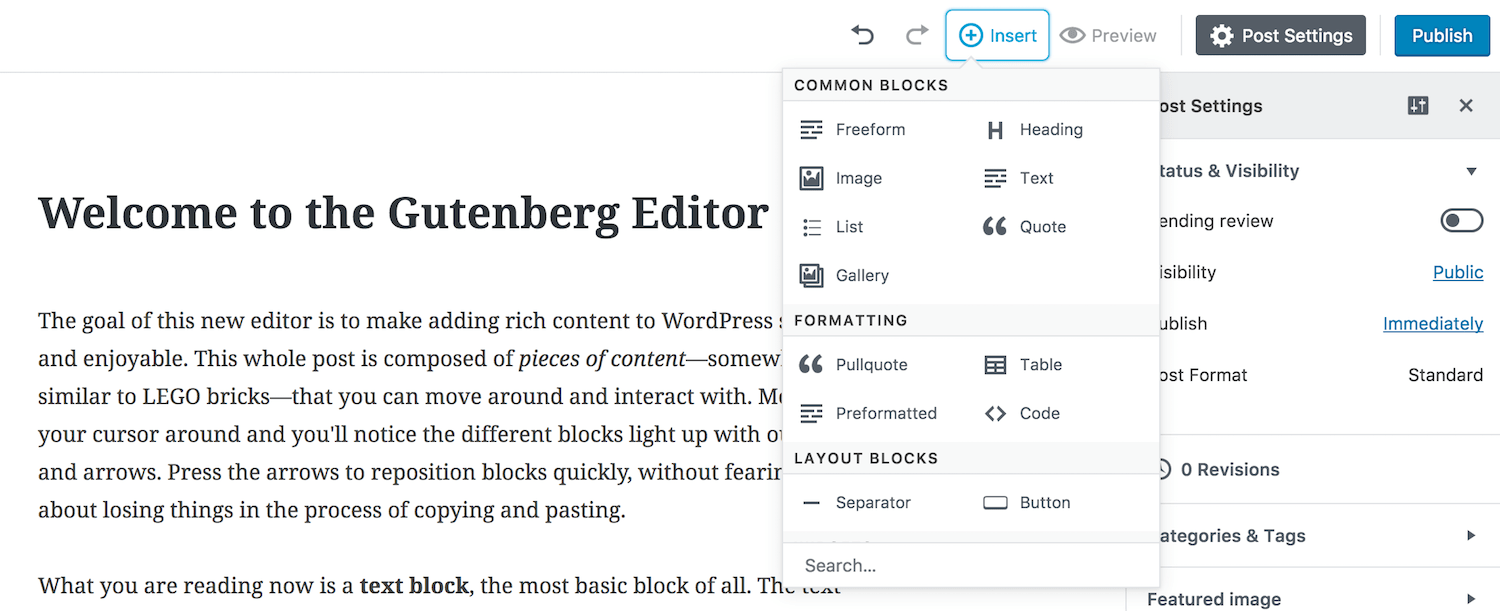 /the-gutenberg-wordpress-plugin-what-do-you-need-to-know-8fc9fb040582 feature image