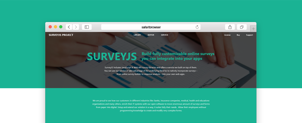 SurveyJS: What's new in Survey and Form Builder libraries (first
