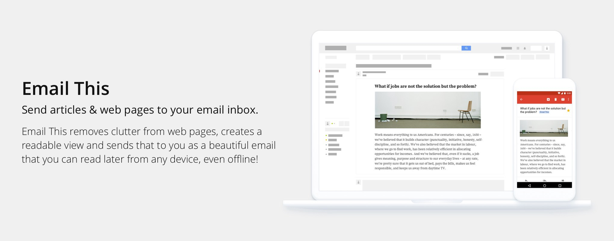 Introducing Email This — Send ad-free articles to your email