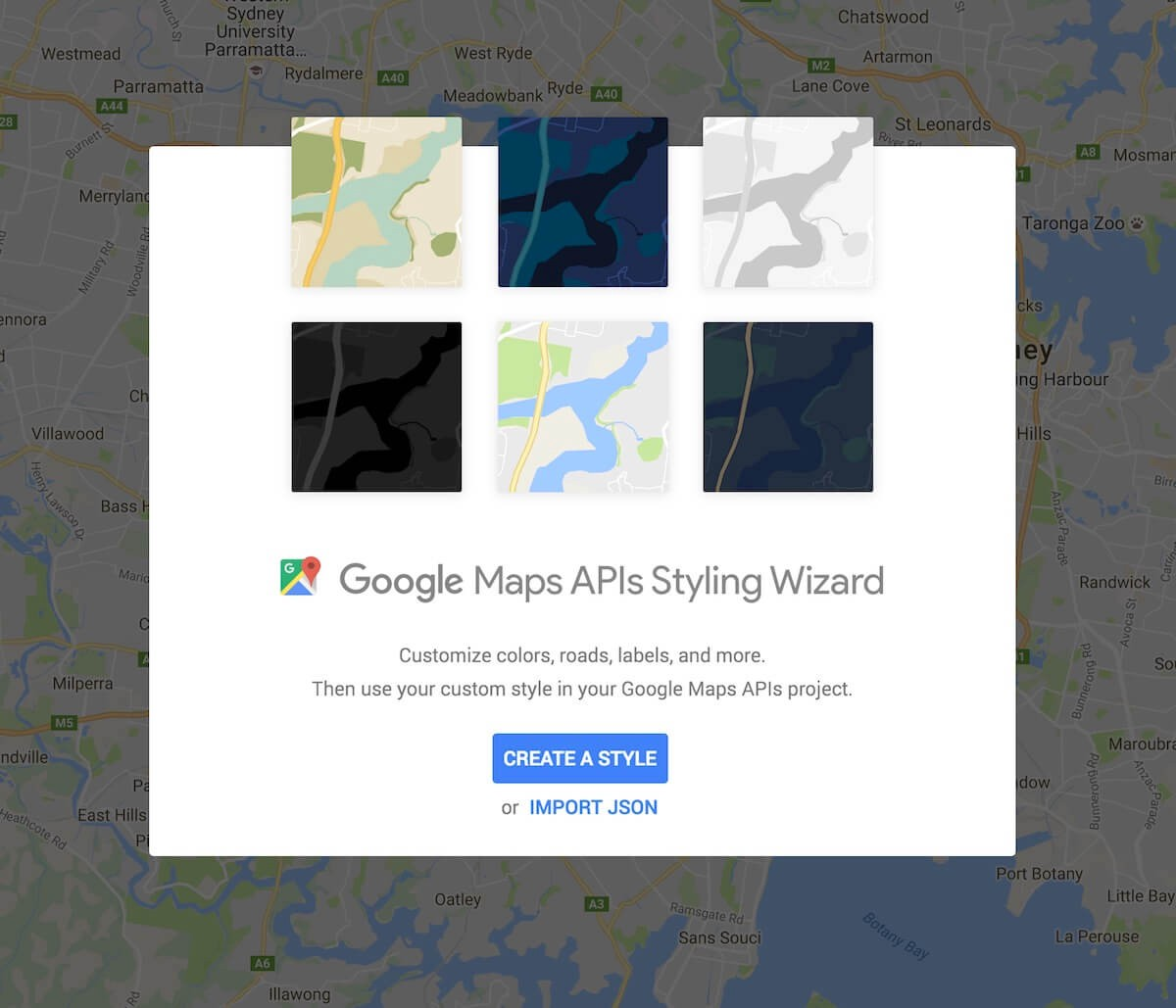 Using custom styles with Google Maps Android API - By