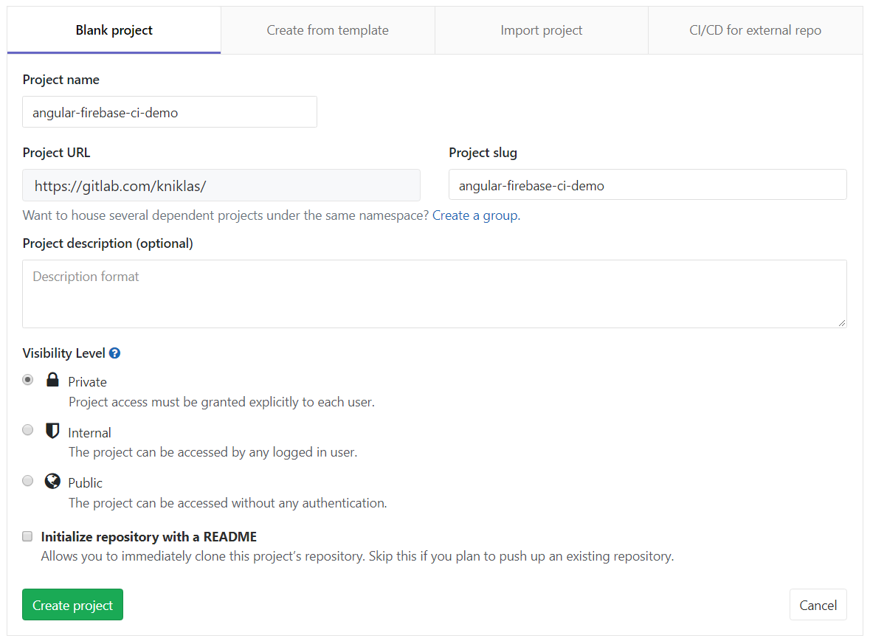 CI/CD with Angular 6 & Firebase & GitLab - By Kai Niklas