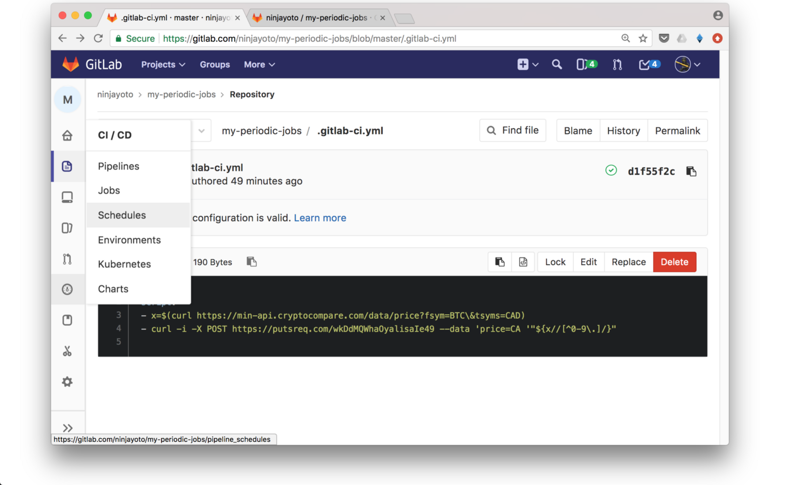 71 seconds to build your free custom webhook (Illustrated