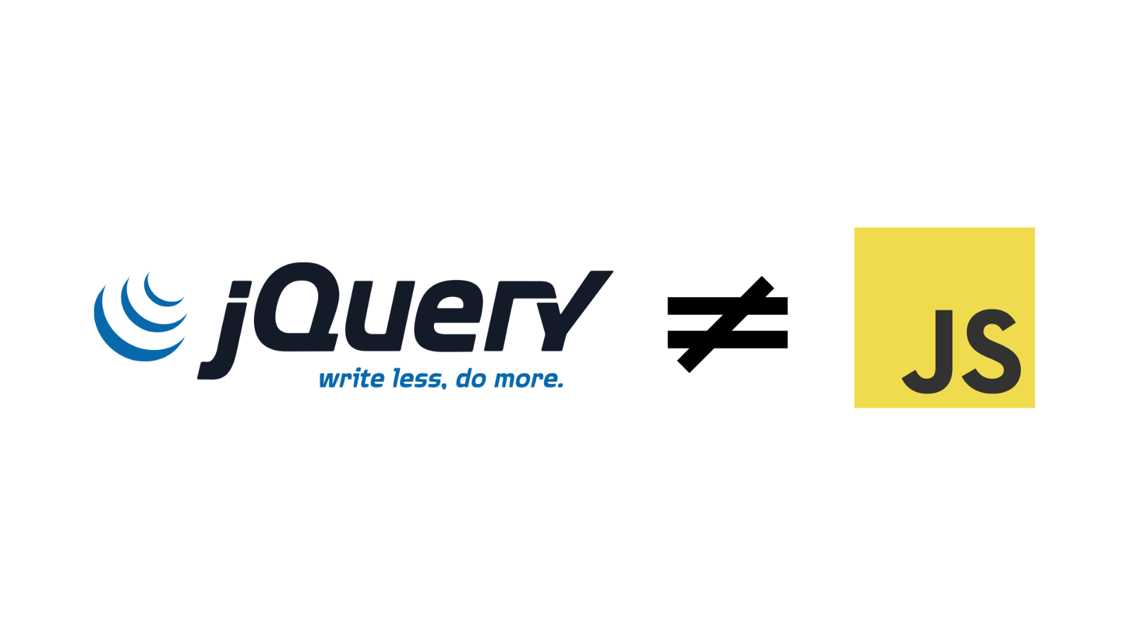 You Truly Don't Need jQuery - By