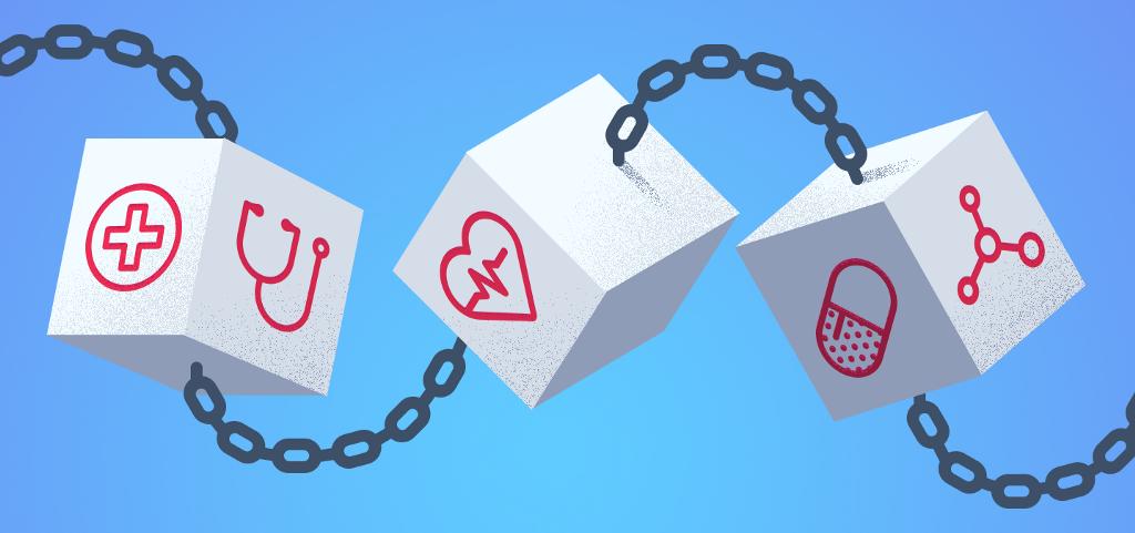 /blockchain-in-healthcare-5f08767e95e8 feature image