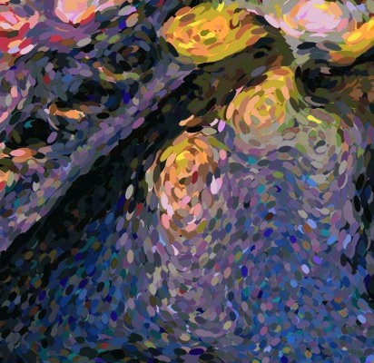 Creating Pointillist Paintings with Python and OpenCV - By