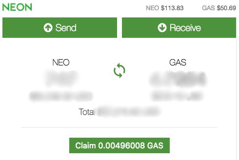 Стоимость NEO