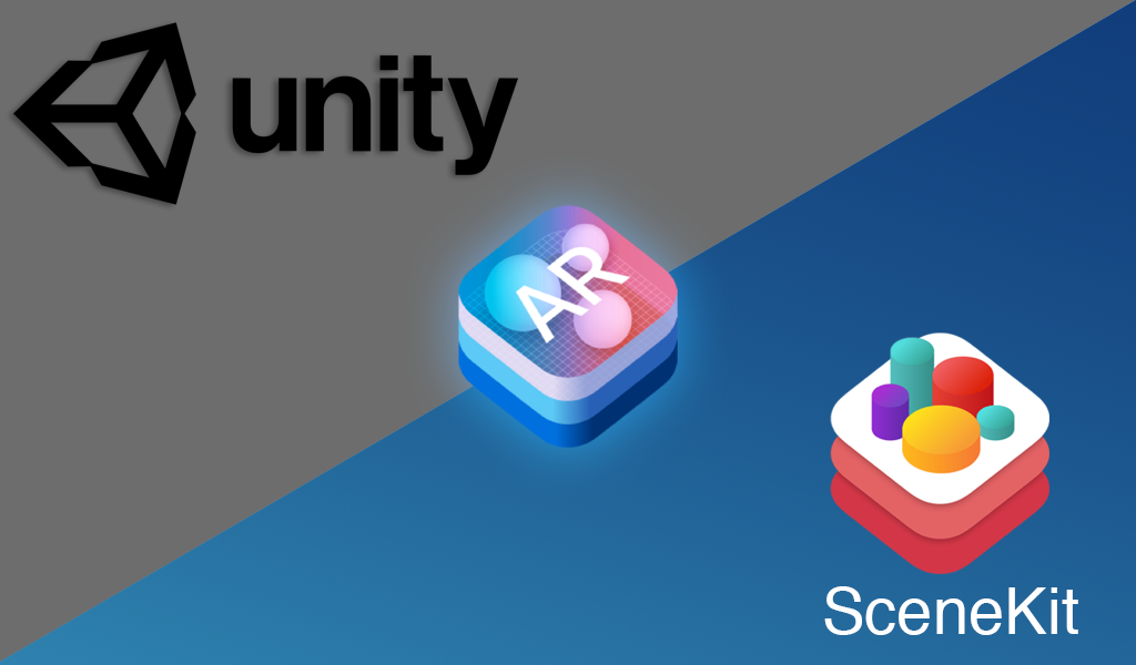 /scenekit-or-unity-for-arkit-3fa3566d4d32 feature image