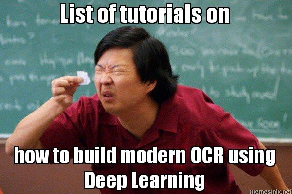 🔥 Latest Deep Learning OCR with Keras and Supervisely in 15
