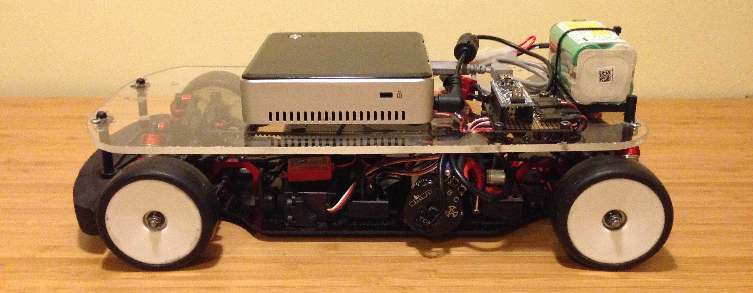 Ghost II — Controlling An RC Car With A Computer - By