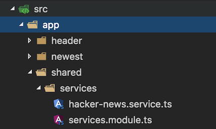 Angular2 -HackerNews clone Firebase setup with observables