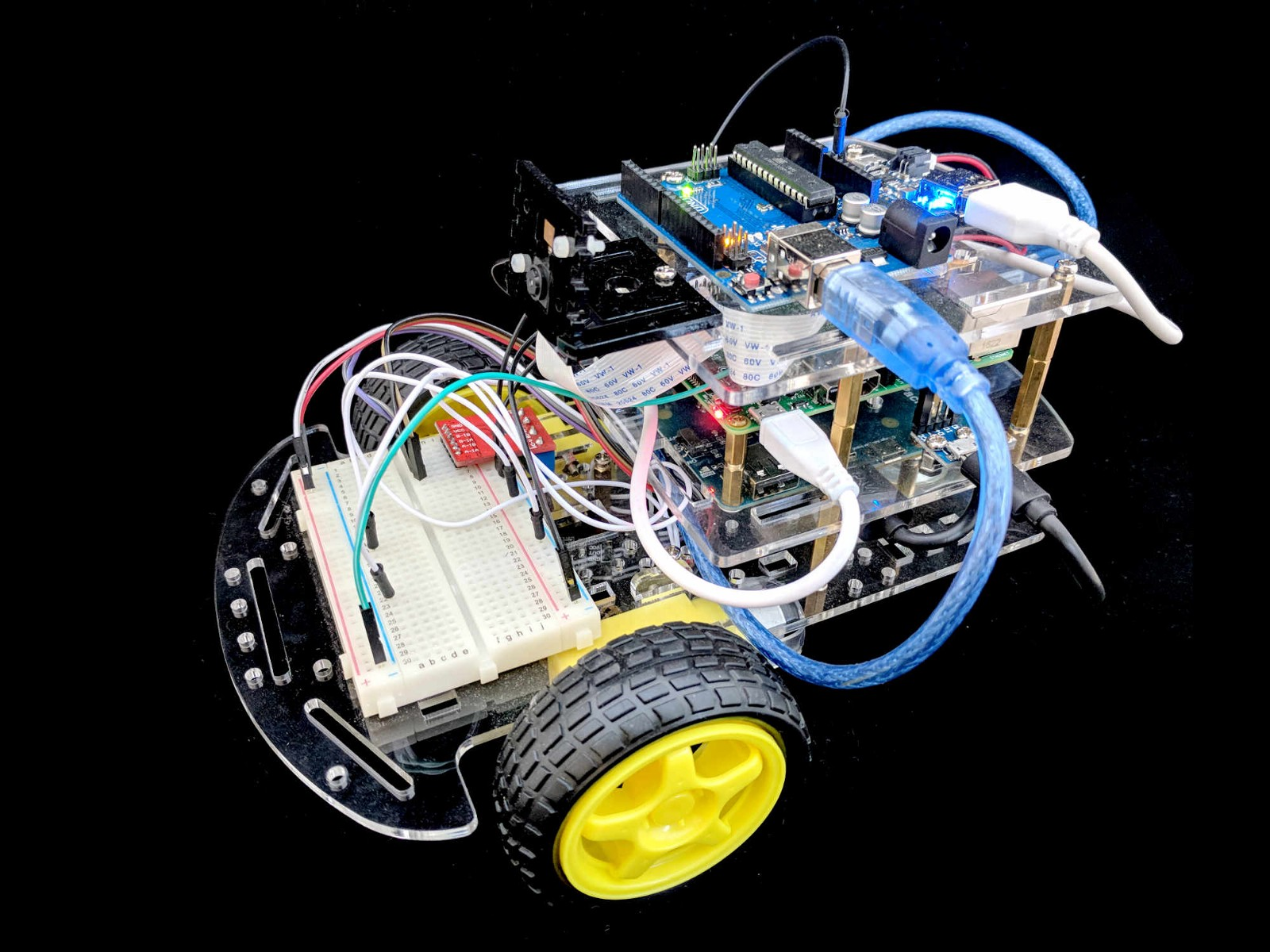 ROS + OpenCV robot kit for Makers - By