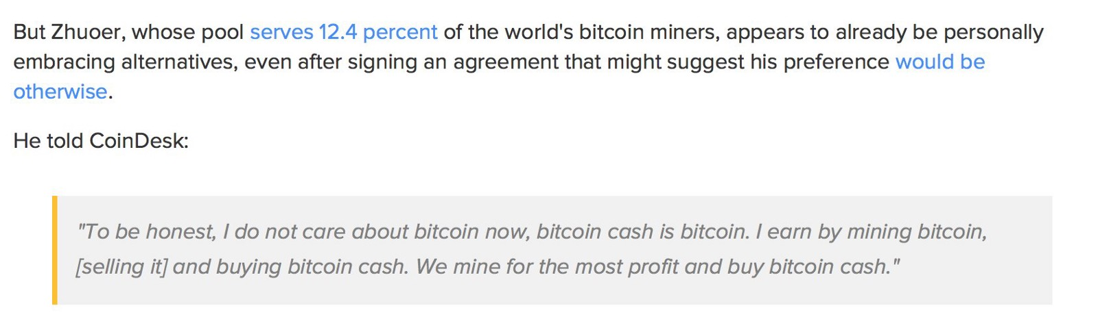 That's not Bitcoin — Who are you to tell us otherwise? - By
