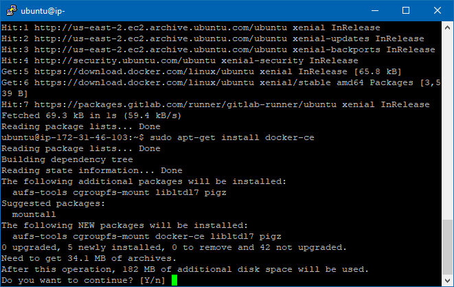Configuring GitLab CI on AWS EC2 Using Docker - By