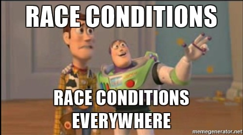 /preventing-race-conditions-in-docker-781854121ed3 feature image