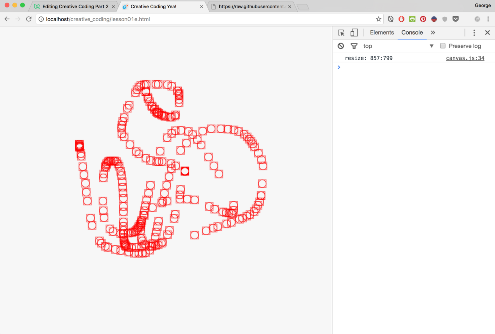 Drawing on the screen — Introduction to Creative Coding Part 2 - By