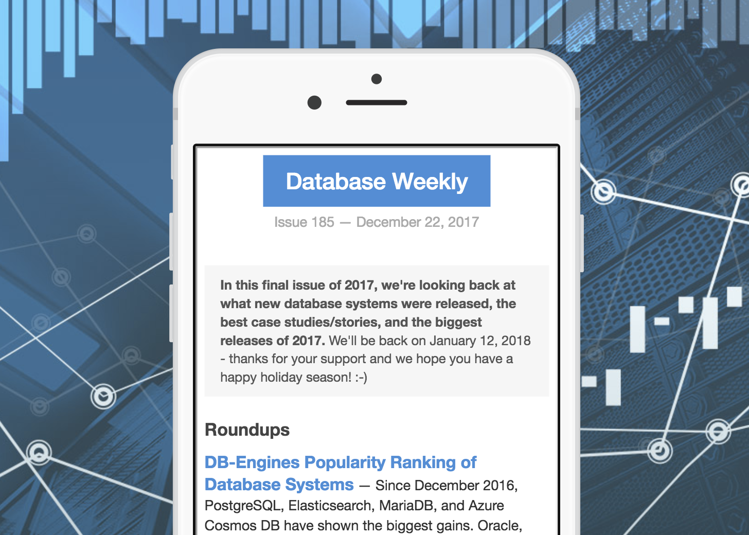 A Look at Ten New Database Systems Released in 2017 - By Peter Cooper