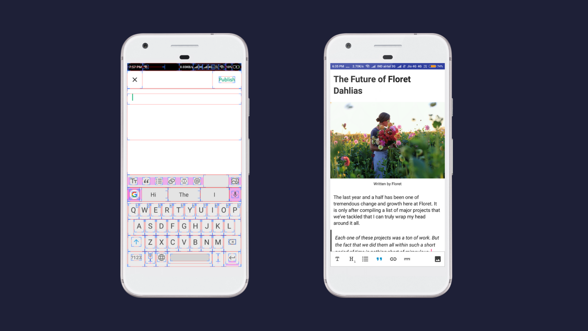 How to develop a WYSIWYG editor in Android - By Ankit kumar