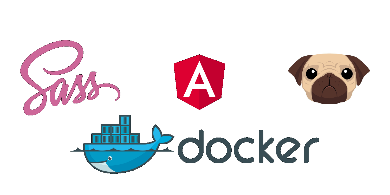 Using Docker, Docker Compose, Angular-CLI 6+, Sass, and Pug (Jade) - By