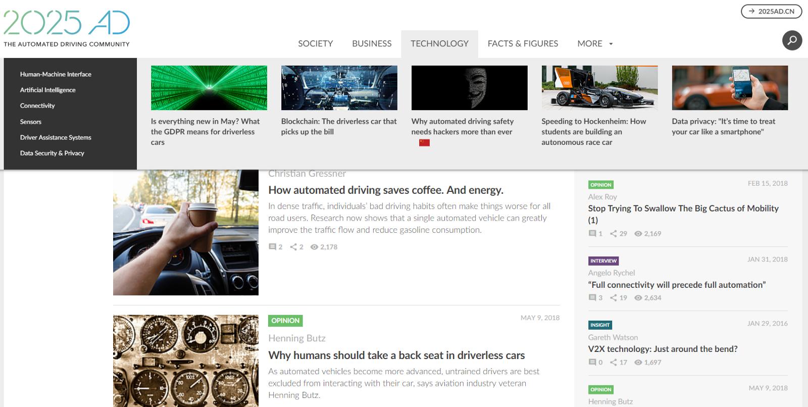 /top-15-autonomous-driving-technology-blogs-you-should-be-reading-adff8e8af174 feature image