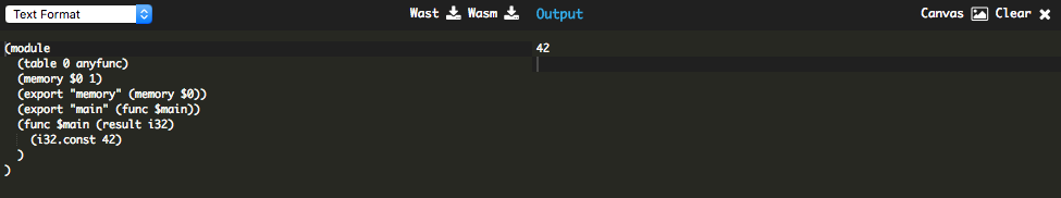 Write and Run WebAssembly in your browser with WasmFiddle! - By