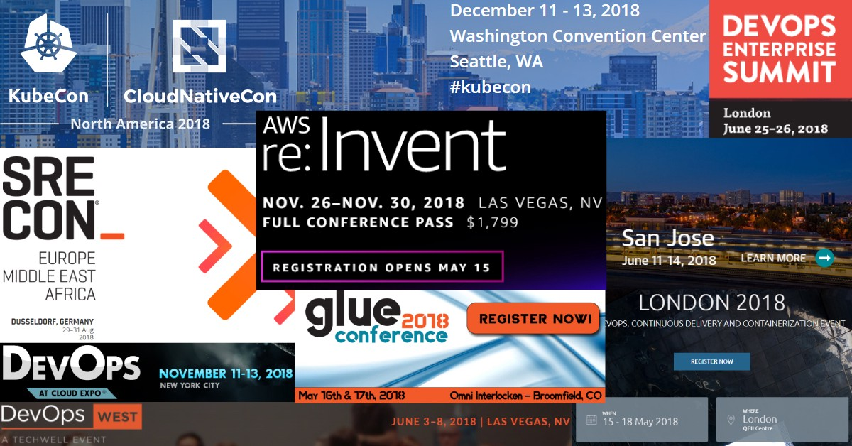 10 Upcoming DevOps Conferences for 2018 - By
