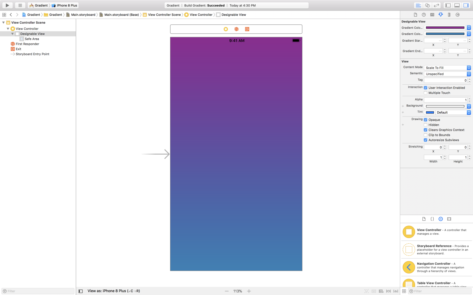 Color it with GRADIENTS — iOS - By