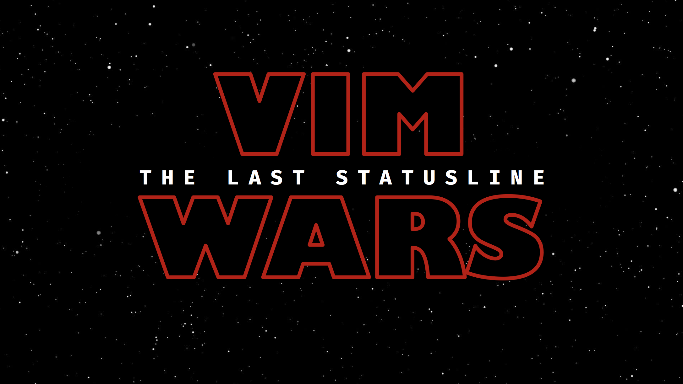 The Last Statusline For Vim - By