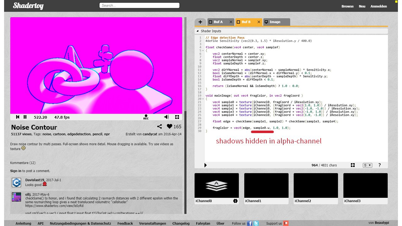 Converting Shaders from Shadertoy to ThreeJS - By